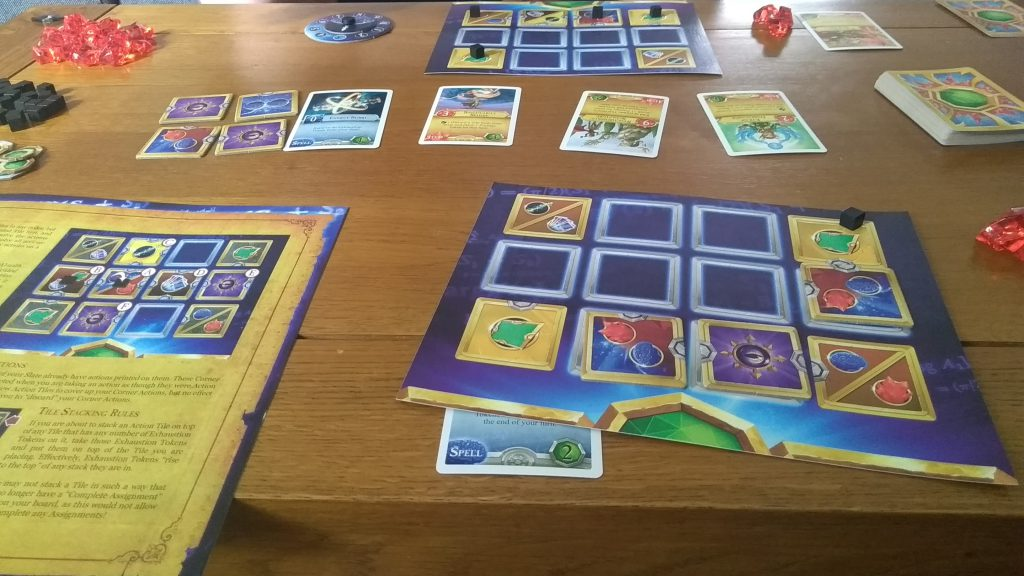 A Photo of magic academy boardgame for Wellness Challenge 2019: Day 4